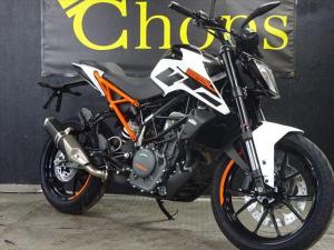 KTM/250デューク 最新モデル インポート ホワイトオレンジフレーム