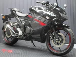 スズキ/GIXXER SF 150 ABS MY2021 ブラック