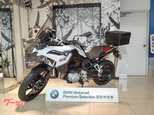 BMW/F750GS 純正トップケース プーチ製スクリーン 2018年12月登録