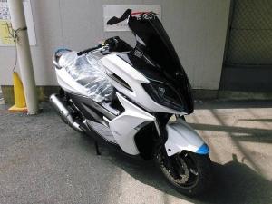 KYMCO/K-XCT125i 盗難抑止アラーム作動灯装備型 日本正規モデル