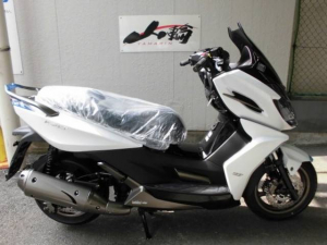 KYMCO/K-XCT125i 日本正規輸入キムコジャパン仕様 最大40度バンク角モデル