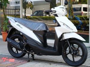 スズキ/アドレス110 新車 2021年モデル ホワイト