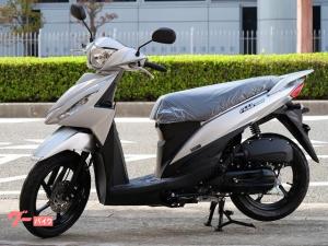 スズキ/アドレス110 新車 2021年モデル 新色 シルバー