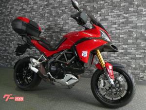 DUCATI/ムルティストラーダ1200S トップケース付  ナックルガード