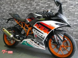 KTM/RC390 ABS アクラポビッチマフラー