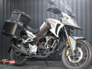 ホンダ/CB190X TOURISM 3パニアケース標準装備 エンジンガード付き