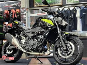 カワサキ/Z250 ABS MY2022 メタリックスパークブラック×メタリックマットグラフェンスチールグレー