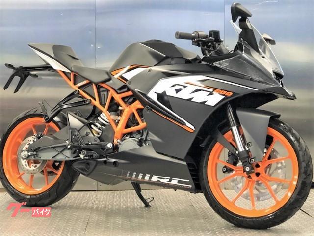 KTM RC200 2015 EURモデル新車の画像(京都府