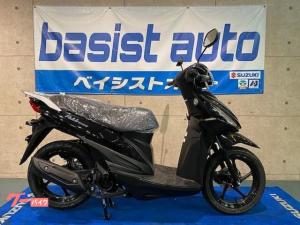 スズキ/アドレス110 国内最新モデル コンビブレーキ