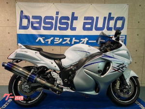 スズキ/GSX1300Rハヤブサ 国内モデル チタンフルエキ・シングルシートカウル