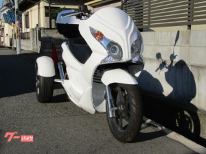 トライク/トライク(51~125cc)HONDA PCXトライク 外装インナーホワイト 社
