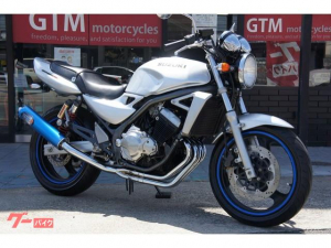 スズキ/GSX250FX 2003年モデル マフラー HURRICANEハンドル
