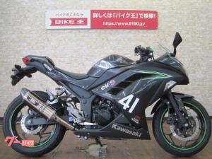 カワサキ/Ninja 250 2016年式モデル カスタムマフラー スマホホルダー カスタムレバー