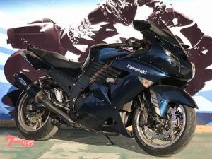 カワサキ/ZZ-R1400 トリックスターマフラー フェンダーレス グリップヒーター