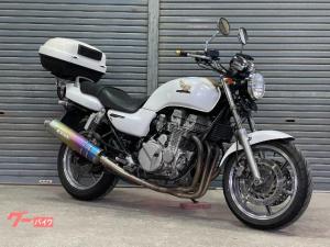 ホンダ/CB750 モリワキマフラー エンジンガード リアBOX 一体型ETC