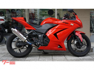 カワサキ/Ninja 250R シングルシートカウル・BEETサイレンサー・フェンダーレス