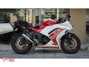 カワサキ/Ninja 250  SP忠男マフラー セパハン LEDライト ブレーキホース
