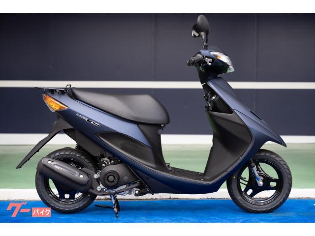 スズキ アドレスV50 最新モデル マットステラブルーメタリックの画像(大阪府