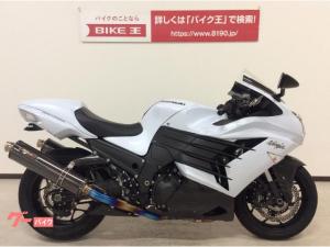 カワサキ/Ninja ZX-14R 2013年モデル ノジマチタンマフラー OVERバックステップ カーボンパーツ多数