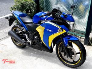 ホンダ/CBR250R ABS モリワキカラー 限定車 MC41 スマホ メットホルダー装備