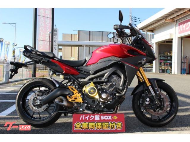 ヤマハ トレイサー900(MT-09トレイサー)2015年モデル バックステップ エンジンプロテクターの画像(京都府
