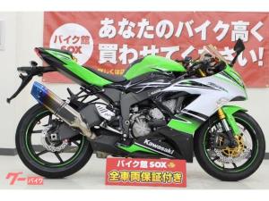 カワサキ/Ninja ZX-6R 2015年モデル Ninja30thカラー トリックスターイカヅチS/O ベビーフェイススライダー