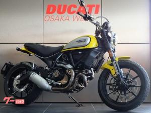 DUCATI/スクランブラーアイコン ギアポジ燃料計付き最新型モデル 新車