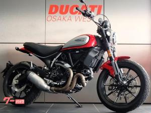 DUCATI/スクランブラーアイコン ギアポジ燃料計付き最新型 2021新色モデル 新車