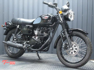 カワサキ/W175 SpecialEdition インポートモデル ブラックカラー