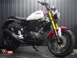 ヤマハ/XSR155 タイYAMAHA 日本未発売モデル  ホワイトレッド