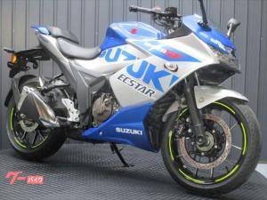 スズキ/GIXXER SF 250 ABS付き インドSUZUKI 2021年ブルー&シルバー