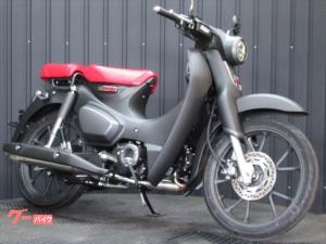 ホンダ/スーパーカブC125 インポート ダブルシートモデル マットブラックカラー