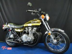 カワサキ/Z-IA シルバーエンジン タイガーニューペイント