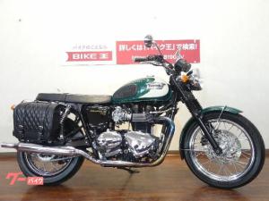 TRIUMPH/ボンネビルT100 サドルバック付 グリーン