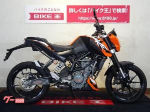 KTM/125デューク スマホホルダ ABS標準装備