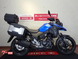 スズキ/V-ストローム250 ナックルバイザー ABS Rキャリア パニアケース トップケース