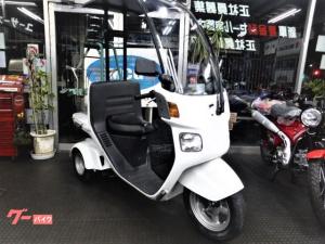 ホンダ/ジャイロキャノピー 4ストエンジン オカモチ専用機付き デリバリー大型リアボックス交換OK