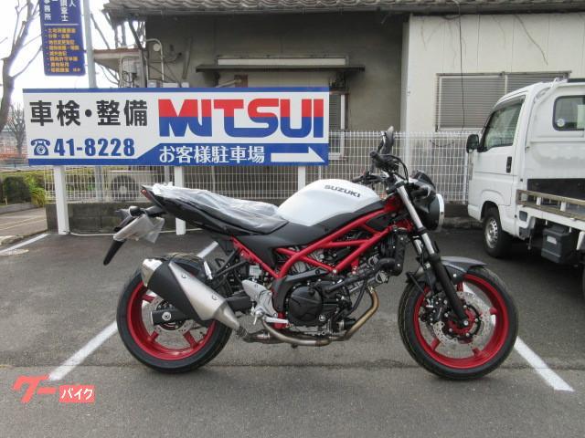 スズキ SV650 ABS 2021モデルの画像(福岡県