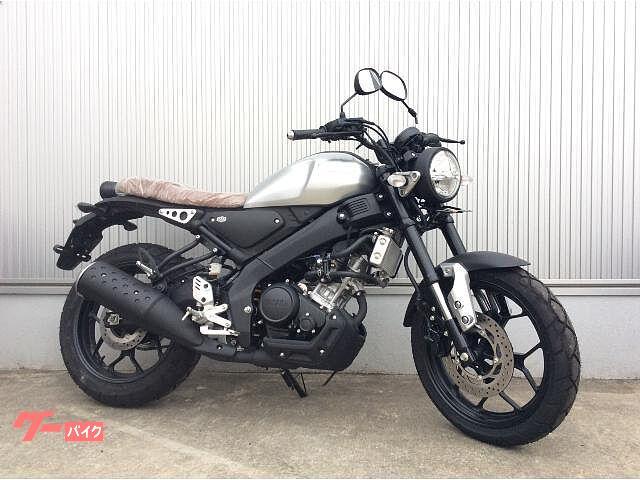 ヤマハ XSR155 輸入モデル 倒立フォークの画像(福岡県