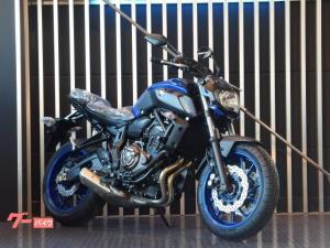 ヤマハ/MT-07 ABS RM19J 現行モデル ブルー