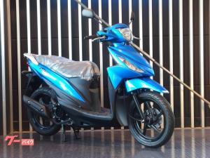 スズキ/アドレス110 インジェクション 現行モデル CE47A ブルー