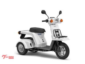 ホンダ/ジャイロXベーシック 2019 TD02 ホワイト インジェクション