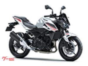 カワサキ/Z400 ABS EX400G 2022 現行モデル パールロボティックホワイト/メタリックマットグラフェンスチールグレー