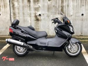 スズキ/スカイウェイブ650LX 電動スクリーン格納ミラー グリップ・シートヒーター ETC