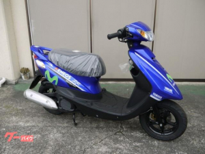 ヤマハ/JOG ZR 限定車 モビスターカラー
