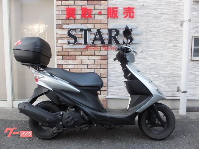スズキ アドレスV125S GIVIリヤボックスの画像(福岡県