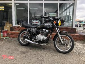 スズキ/GS400 BBET マーシャル マフラー タックロール E2カラー 250cc