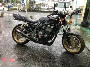 カワサキ/ZRX400 モリワキショート管 コンドルハンドル