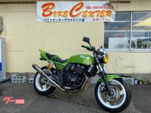 カワサキ/ZRX400-II マーシャルイエロー BEETフェンダー ポイント アルフィン テールカウル タックロール