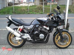 ホンダ/CB400Super ボルドール ヨシムラマフラー・カスタムレバー